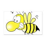 Original Cute Stinger Bee Rectangle Car Magnet