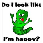 Do I Look Like I'm Happy Cate Square Car Magnet 3&