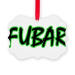 FUBAR ver3 Picture Ornament