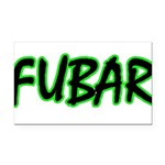 FUBAR ver3 Rectangle Car Magnet