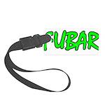 FUBAR ver4 Small Luggage Tag