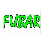 FUBAR ver4 Rectangle Car Magnet