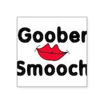 Goober Smooch Square Sticker 3