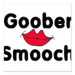 Goober Smooch Square Car Magnet 3
