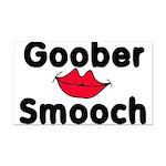 Goober Smooch Rectangle Car Magnet