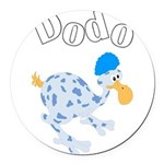 Dodo bird Round Car Magnet
