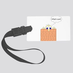 wall2 Large Luggage Tag