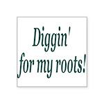 diggin Square Sticker 3