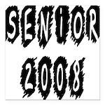 senior2008a Square Car Magnet 3