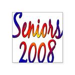 seniors2008 Square Sticker 3