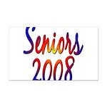 seniors2008 Rectangle Car Magnet
