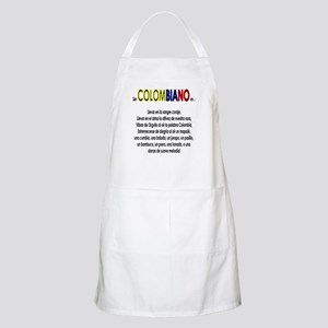 Ser Colombiano es BBQ Apron