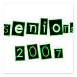 seniors2 Square Car Magnet 3