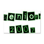 seniors2 Rectangle Car Magnet