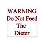 feeddieter Square Sticker 3