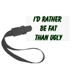 fatugly Large Luggage Tag