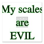 scalesevilw Square Car Magnet 3