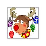 christmasdeer Square Sticker 3