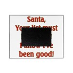 Santa's List Picture Frame