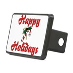 happyholidays Rectangular Hitch Cover