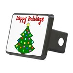 happyholidaystree Rectangular Hitch Cover
