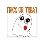 ghosttrick Square Sticker 3