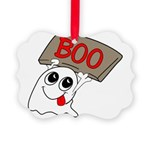 ghost Picture Ornament