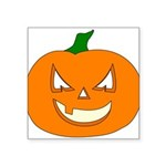 pumpkin Square Sticker 3
