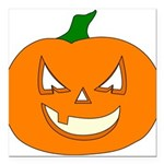 pumpkin Square Car Magnet 3