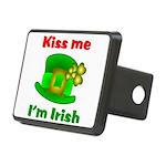 Kiss Me I'm Irish Hat ver2 Rectangular Hitch Cover