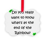 End of the Rainbow Picture Ornament