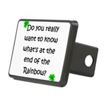 End of the Rainbow Rectangular Hitch Cover