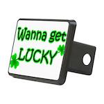 Wanna Get Lucky Rectangular Hitch Cover