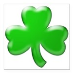 Shamrock ver4 Square Car Magnet 3