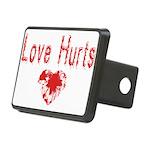 lovehurts Rectangular Hitch Cover