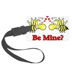Be Mine Bees Large Luggage Tag