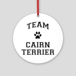 Team Cairn Terrier Ornament (Round)