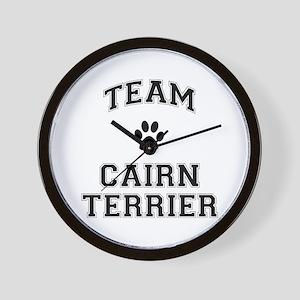 Team Cairn Terrier Wall Clock