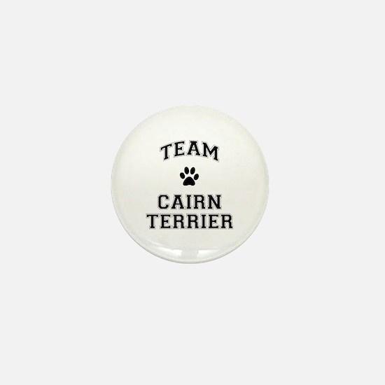 Team Cairn Terrier Mini Button