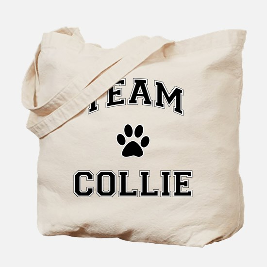 Team Collie Tote Bag