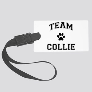 Team Collie Large Luggage Tag