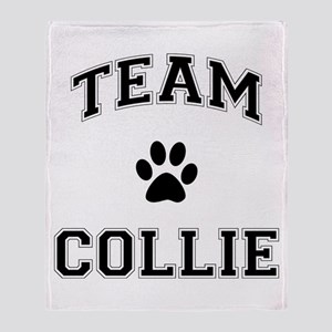 Team Collie Throw Blanket