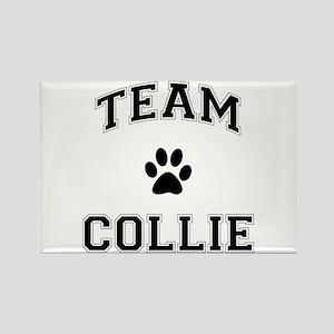 Team Collie Rectangle Magnet