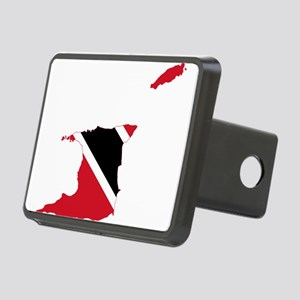 Trinidad and Tobago Flag and Map Rectangular Hitch