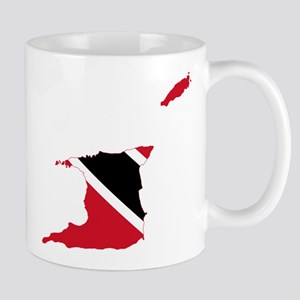 Trinidad and Tobago Flag and Map Mug