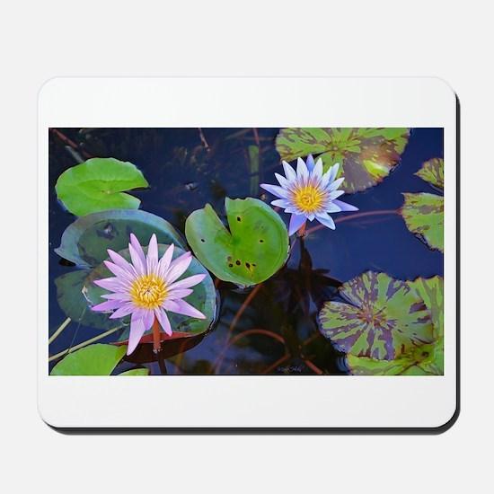 Water Lilies in Kauai Mousepad