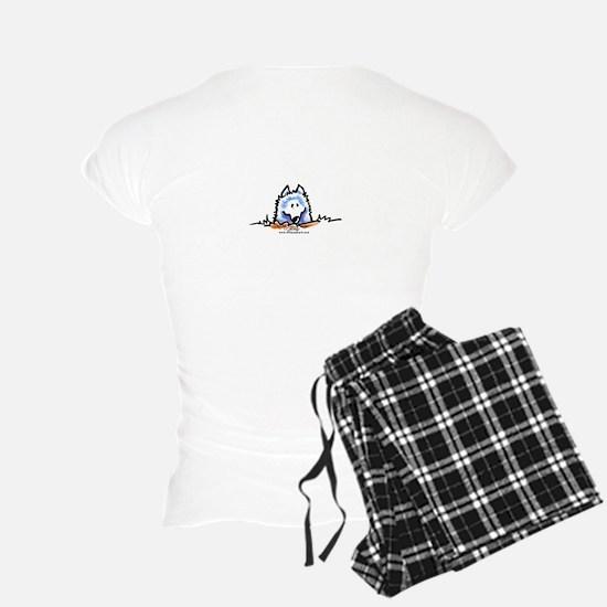 Samoyed Eskie Dig Pajamas