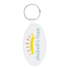 Elizabeth's Hope Oval Keychain