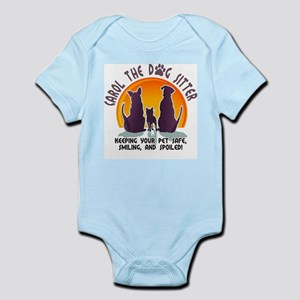 Carol The Dog Sitter with Tag Line Infant Bodysuit