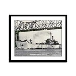 USS DESOTO COUNTY Framed Panel Print